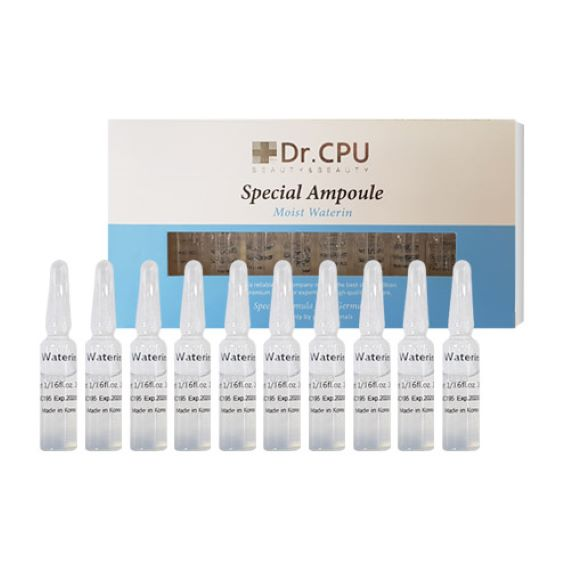 Dr. CPU Moist Water In Ampoule 20*2ml - 워터린 앰플