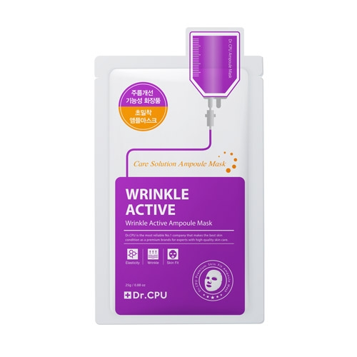 Dr.CPU Wrinkle Active Ampoule Mask 10*25gm - 링클 액티브 앰플 마스크