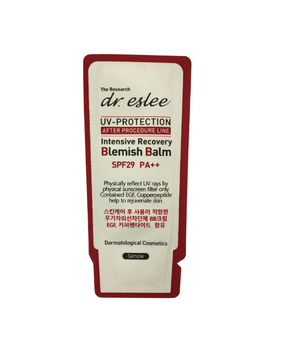 dr.eslee Intensive Recovery Blemish Balm SPF 29 (Sachet  1 gm)