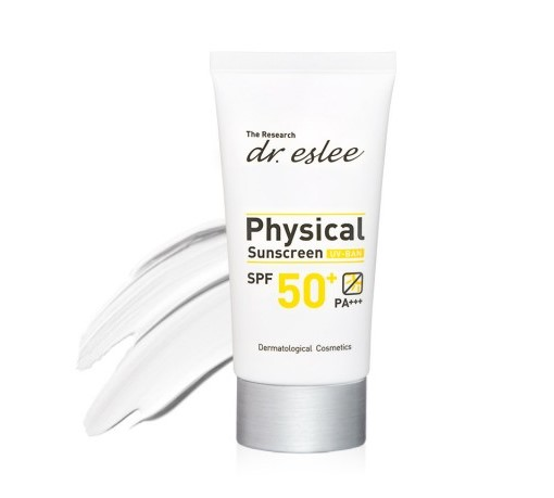 dr.eslee Physical Sunscreen SPF 50 PA +++ 60 gm - 피지컬 선스크린