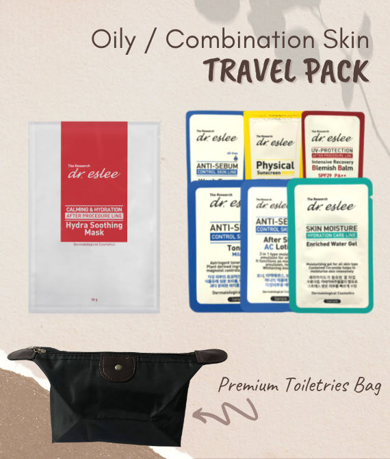 dr.eslee Travel / Trial Pack (Oily / Combination Skin) DISCOUNT 64%