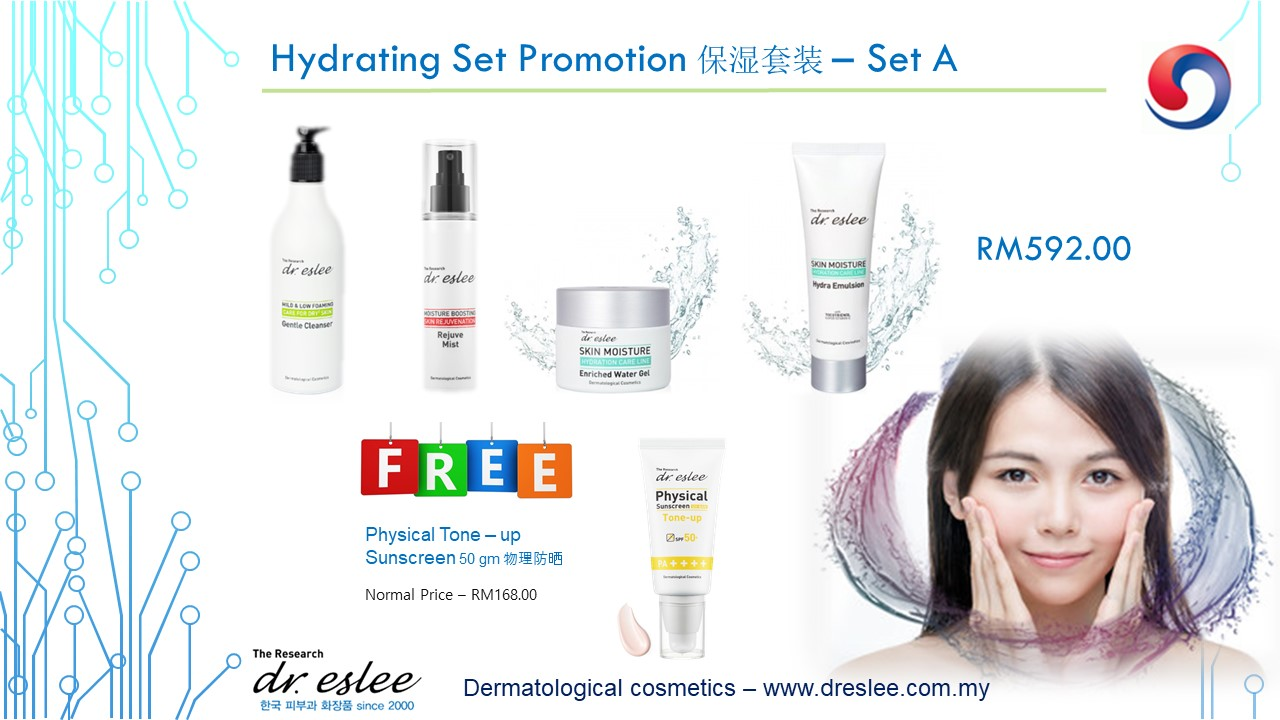 Hydrating Set Promotion