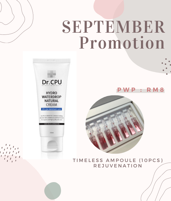 SEP Promotion - Hydro waterdrop cream & ampoule