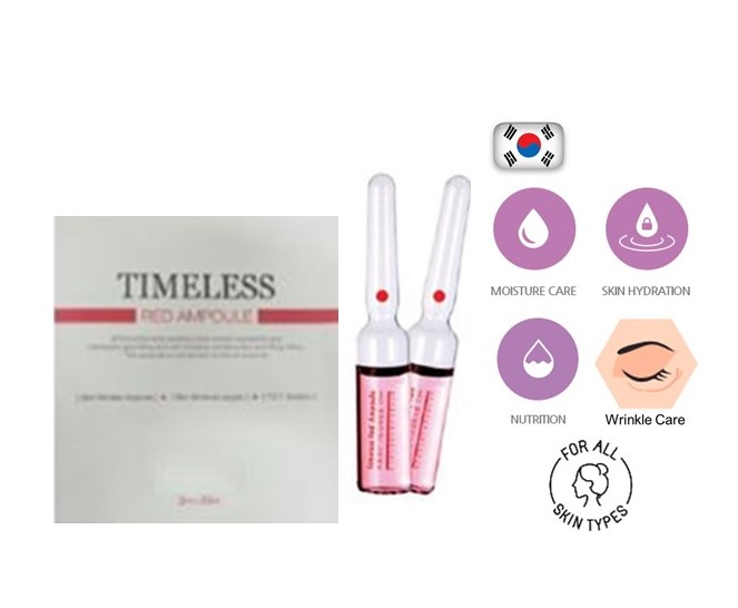 Timeless Red Ampoule (Wrinkle Care) 10 x 2 ml